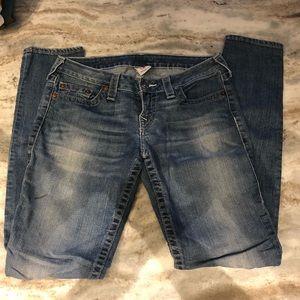 True Religion Skinny Boot Cut Jean